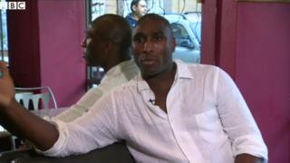 Former Arsenal defender Sol Campbell
