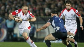 Tom Court was man of the match in Ulster's 27-19 win over Leinster