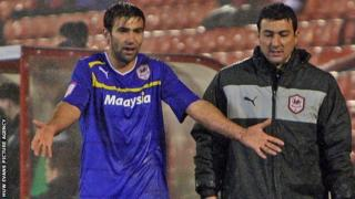 Simon Lappin was sent off against Barnsley
