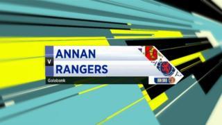 Highlights - Annan 1-3 Rangers