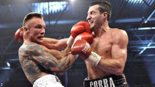 Mikkel Kessler and Carl Froch