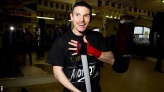 light-welterweight boxer Willie Limond