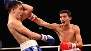 Michael Conlan and Andrew Selby
