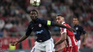 Montpellier captain Mapou Yanga-Mbiwa