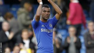 Chelsea defender Ashley Cole