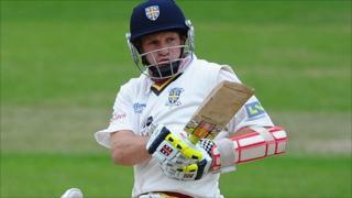 Durham batsman Dale Benkenstein