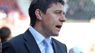 Stockport County manager Darije Kalezic
