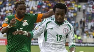 Zambia v Nigeria