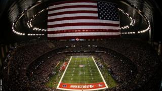 Super Bowl XLVII gets under way