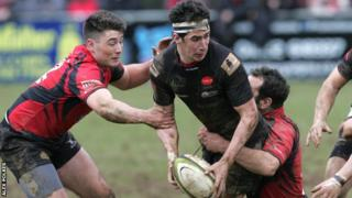 Redruth won at Launceston for the first time ever in the league