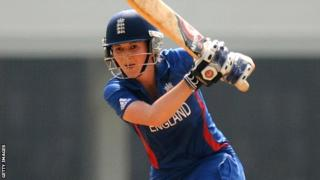 England women's captain Charlotte Edwards