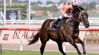 Black Caviar and Luke Nolen win in Melbourne