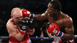 Gavin Rees eventually loses in the fifth round to WBC lightweight champion Adrien Broner