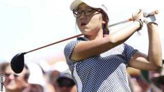 Women's golfer Lydia Ko