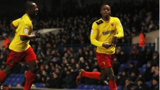 Nathaniel Chalobah celebrates his goal