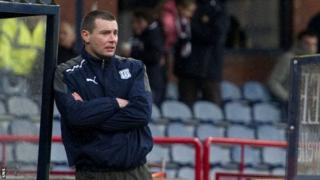 Former Dundee manager Barry Smith