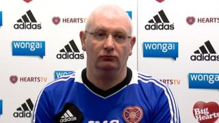 Hearts boss John McGlynn