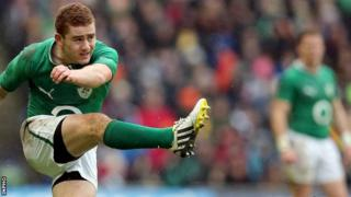 Paddy Jackson landed just one kick out of four at Murrayfield