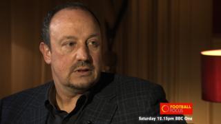 Chelsea interim manager Rafael Benitez