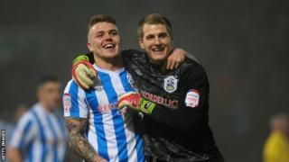 Huddersfield's Danny Ward
