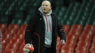 Wales skills coach Neil Jenkins