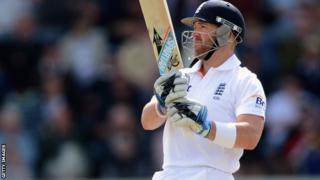 England batsman Matt Prior