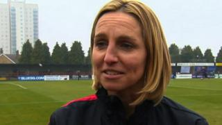 Former Arsenal and England captain Faye White