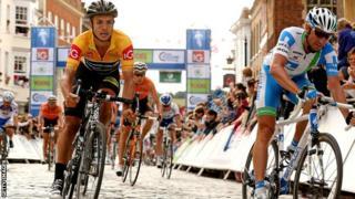 Tour of Britain 2012 winner Jonathan Tiernan-Locke