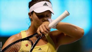 Britain's Laura Robson loses in Miami