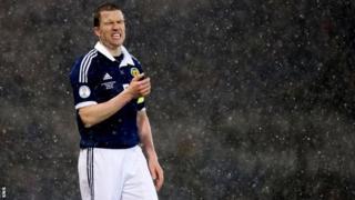 Scotland captain Gary Caldwell