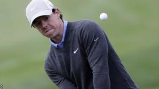 Rory McIlroy at the Texas Open