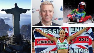 Rio, Simon Timson, Amy Williams, Jessica Ennis