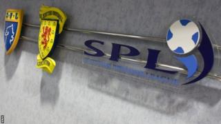 SFL, SFA and SPL logos