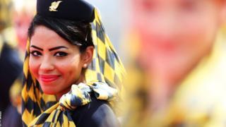 Gulf Air flight attendant