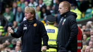 Stuart McCall and Neil Lennon