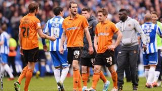 Wolves are relegated