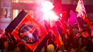 Paris St-Germain fans