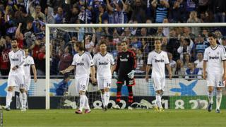Real Madrid react to Espanyol's opener