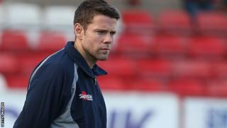 New Accrington Stanley manager James Beattie