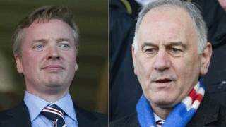 Craig Whyte (left) and Charles Green