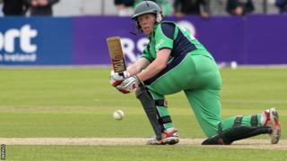 Kevin O'Brien hit a four off the final ball on Thursday's game to earn Ireland a tie against Pakistan