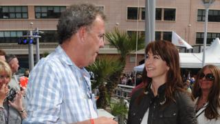 Jeremy Clarkson and Suzi Perry