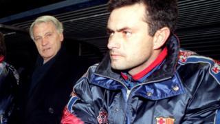Bobby Robson and Jose Mourinho
