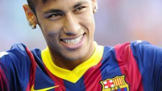 Barcelona's £49m new signing Neymar