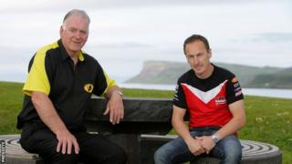 Bill Kennedy and Jeremy McWilliams