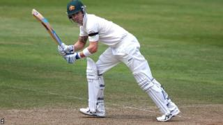 Australia captain Michael Clarke in action at Taunton