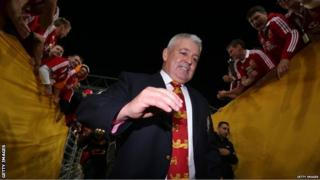 Australia v British and Irish Lions third Test Warren Gatland
