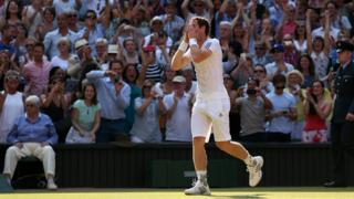 Andy Murray beats Novak Djokovic at Wimbledon
