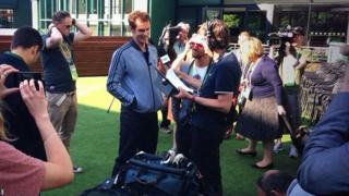 Andy Murray on 5 live Breakfast