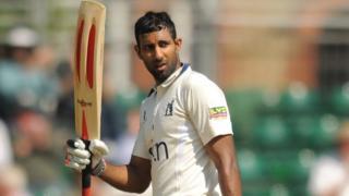 Varun Chopra reaches his century